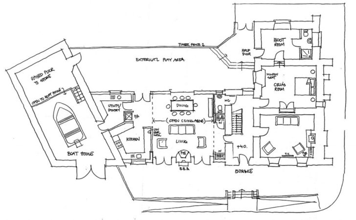 Floor Plans Holiday House Donegal Inishcoo