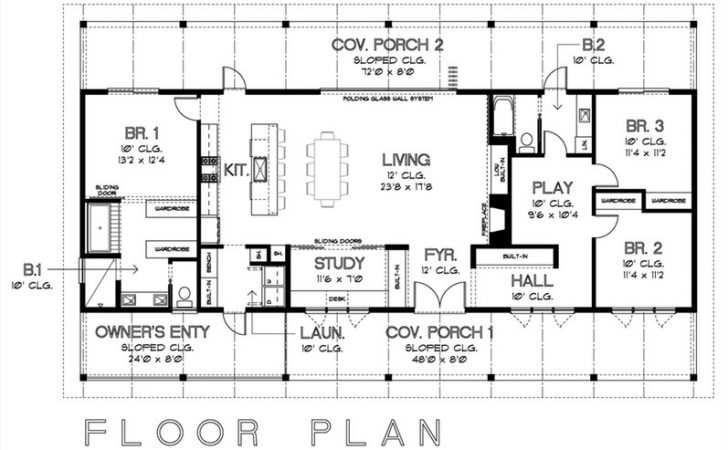 Floor Plans Houses Without Basements Home Design