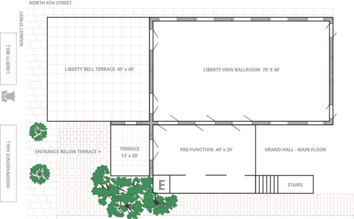 Floor Plans Liberty Independence Visitor Center