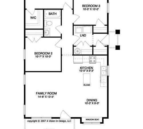 Floor Plans Ranch Style Small Home Unique
