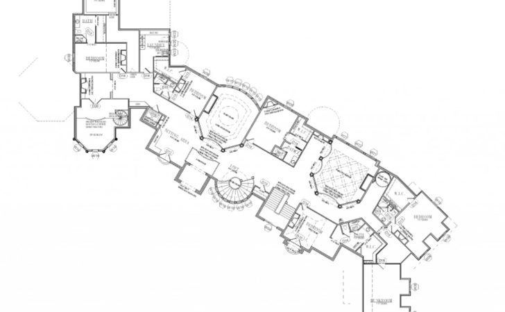 Floor Plans Square Foot Utah Mega Mansion