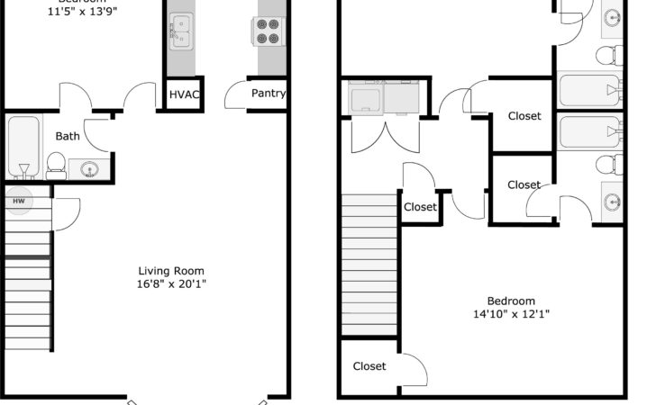 Floor Plans Whistlebury Condominiums