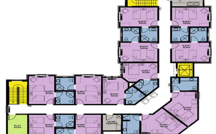 Flooring Guest House Floor Plans Hotel Design