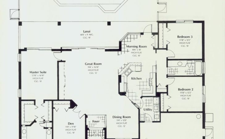 Florida Style Floor Plans House Home Designs Room