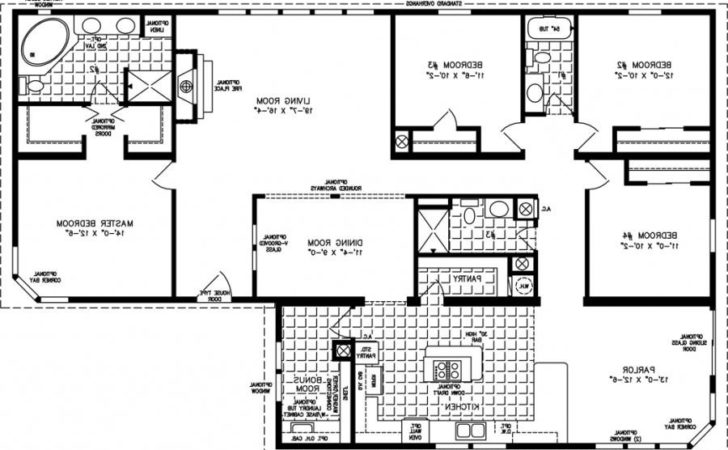 Four Bedroom House Plans Photos