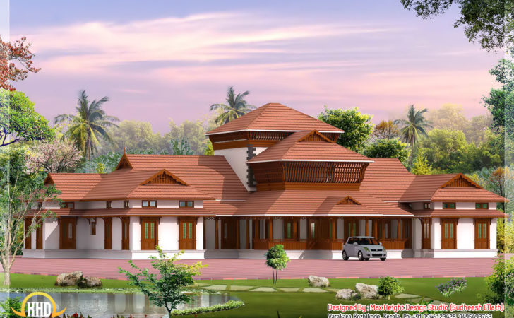 Four India Style House Designs Kerala Home