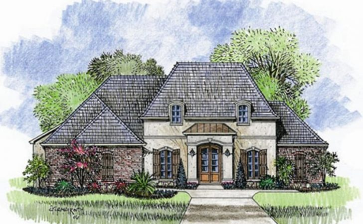French Country House Plans One Story Eplans