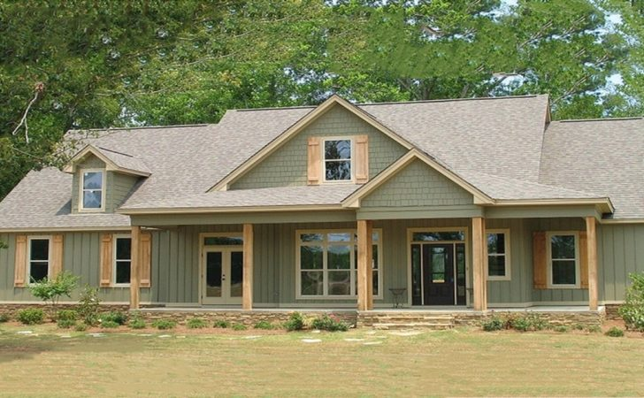 French Country Style Bedrooms Farmhouse House Plan