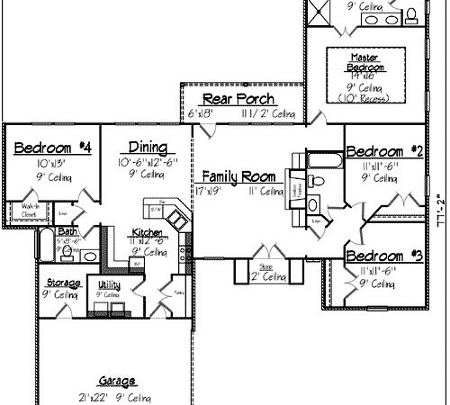 French Quarter Style House Plan Design Ideas