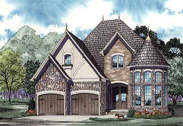 French Tudor House Plan Home Plans Blog