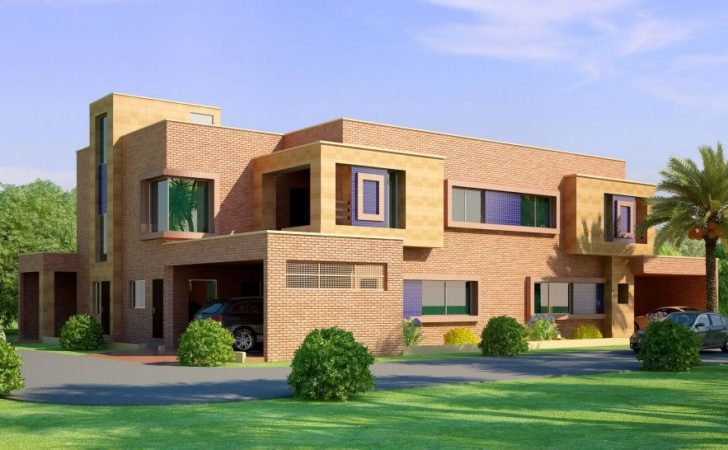Front Elevation Beautiful Home House Pakistan