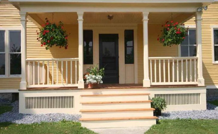 Front House Porches Designs Architectural