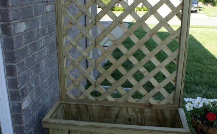 Frugal Flourish Build Lattice Planter Box