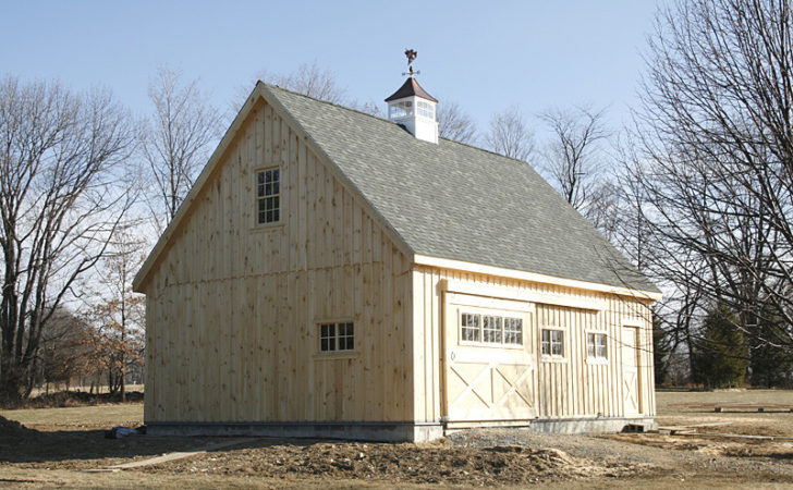 Gable Barn High Roof Pitch