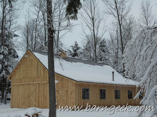 Gable Barn Plans Shed Roof Lean