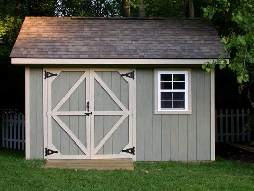 Gable Roof Shed Plans Build Storage