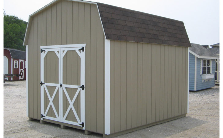 Gambrel Shed Build Your Own Outbuilding Storage