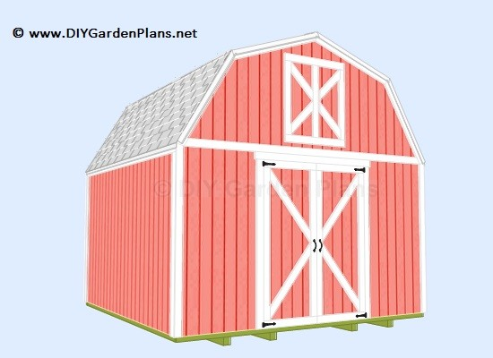 Gambrel Shed Guide Build Yourself Project Plans