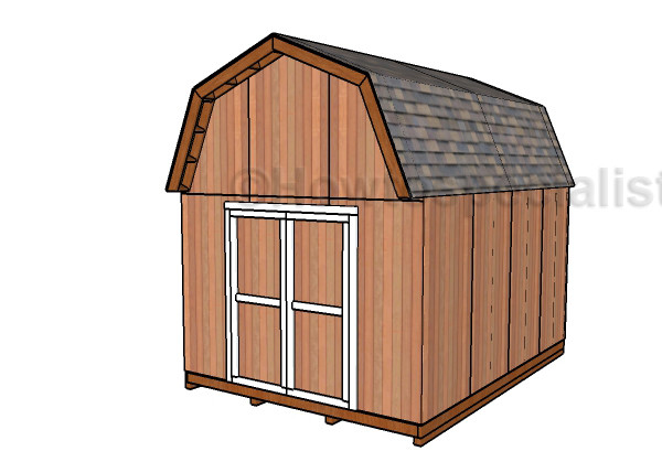 Gambrel Shed Plans Howtospecialist Build