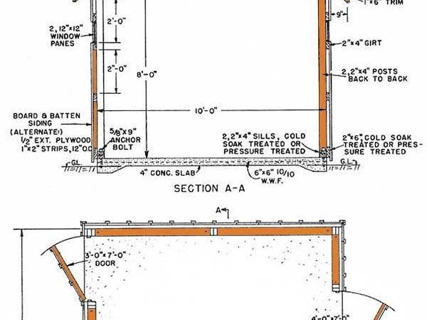 Gambrel Storage Shed Plans Build Classic