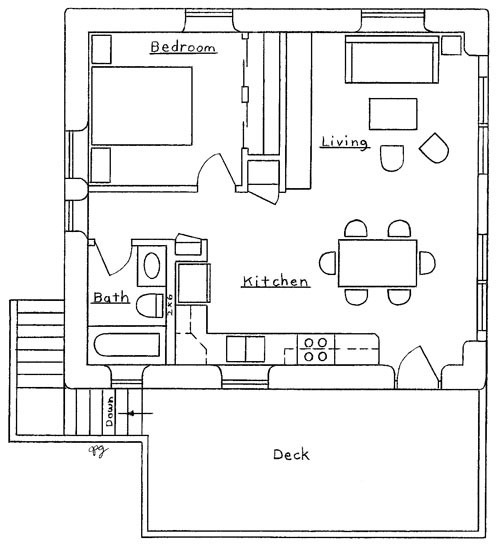 Garage Apartment Plan