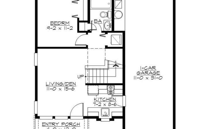 Garage Apartment Plans Bedroom Plan