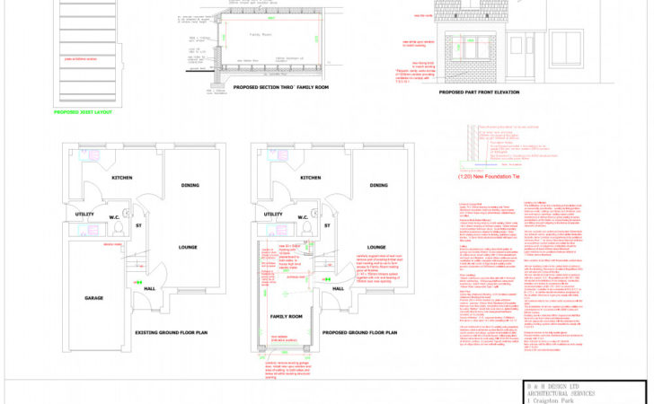Garage Conversion Plans Dunfermline Edinburgh