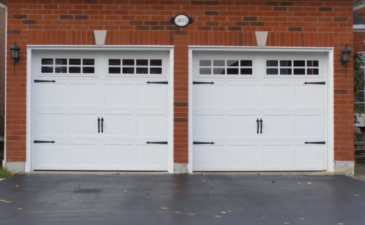 Garage Doors Frightening Wide Car