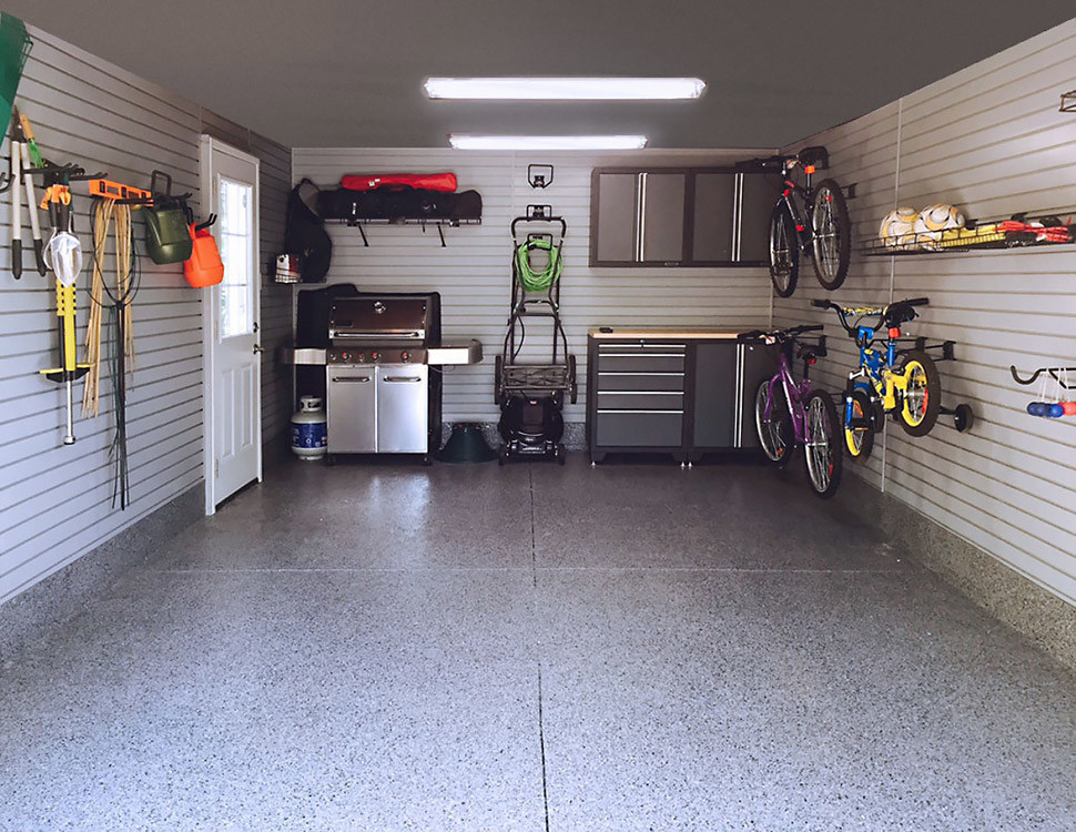 Garage Makeover Run Down Revitalized