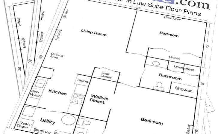 Garage Mother Law Apartment Plans