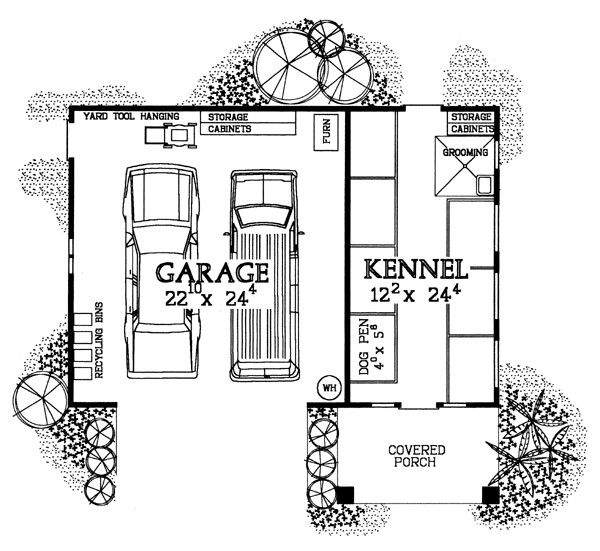 Garage Plans Dog Kennel Breeders Groomers