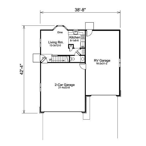 Garage Plans Living Quarters Unique House
