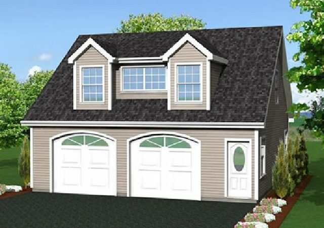 Garage Plans Loft House Design