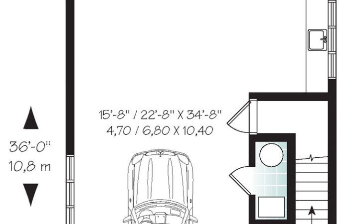Garage Plans Office Space Coolhouseplans
