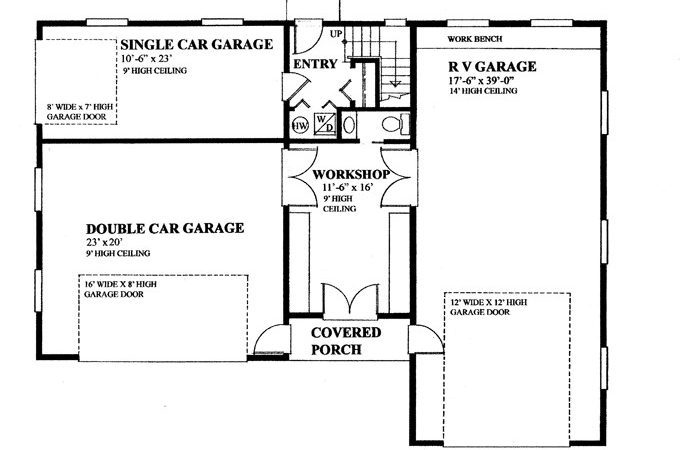Garage Privately Accessed Apartment Hwbdo