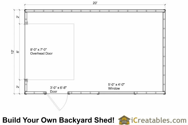 Garage Shed Plans Icreatables