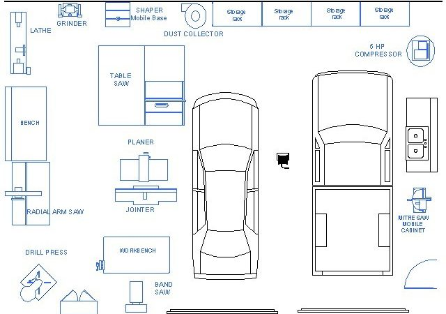 Garage Woodshop Layout Plans