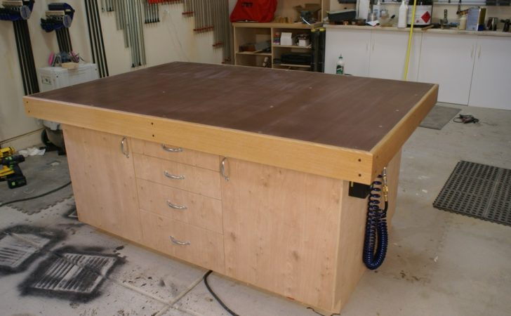 Garage Woodworking Shop Plans