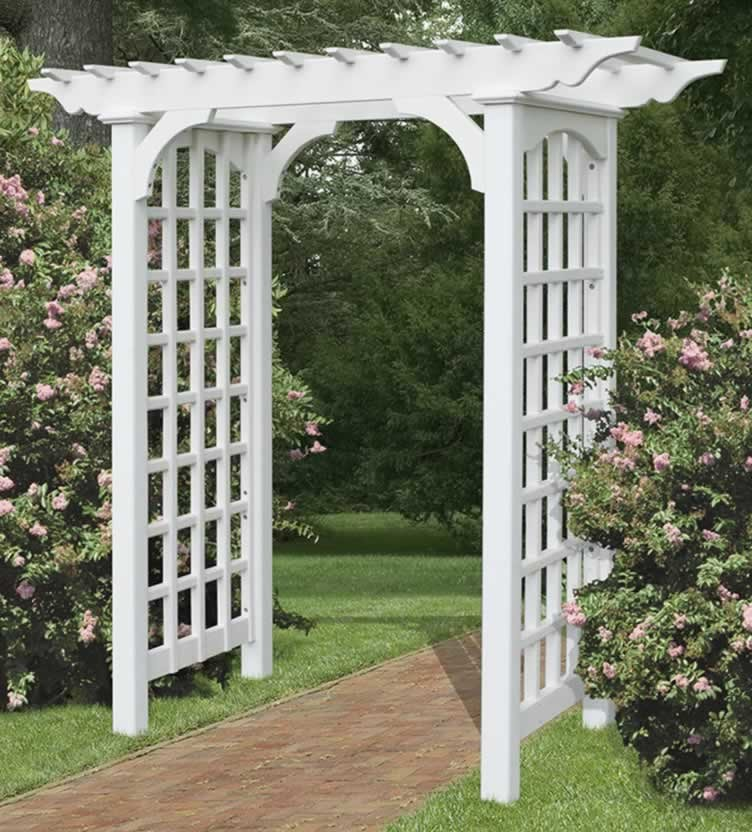 Garden Arbor Gate Decal Galleries