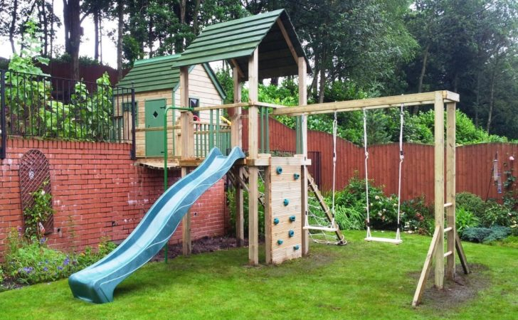 Garden Playhouse Wooden Step Playhouses