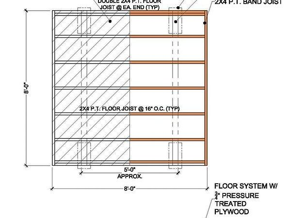 Garden Shed Building Plans Blueprints Simple