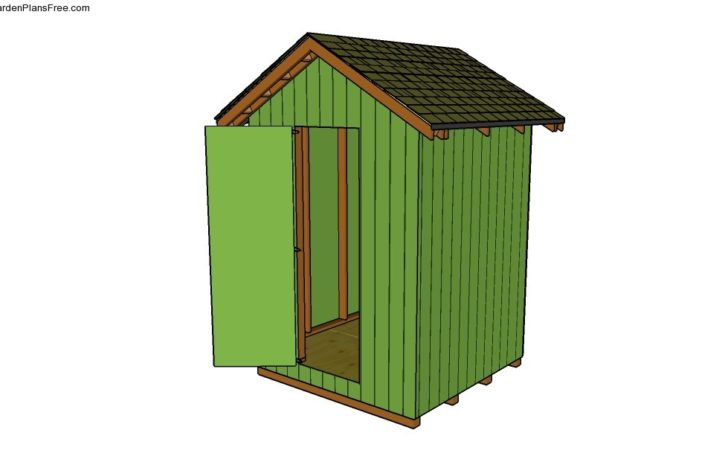 Garden Tool Shed Plans Build