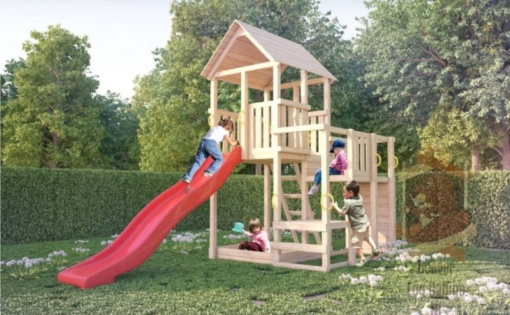 Garden Wooden Playhouse Kids