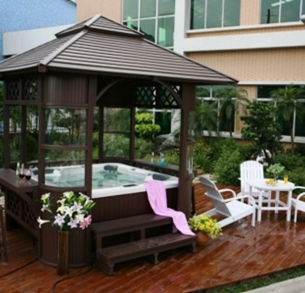 Gazebo Ideas Hot Tubs Pergolas