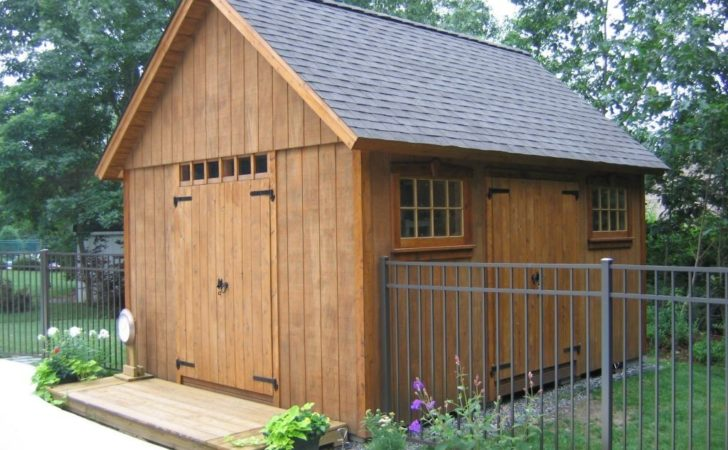 Gerry Woodworkers Shed Building