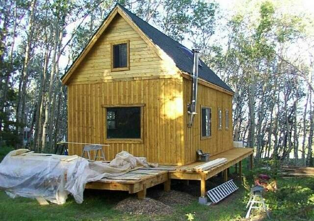 Get Idea Tiny House Plans Small Cabin