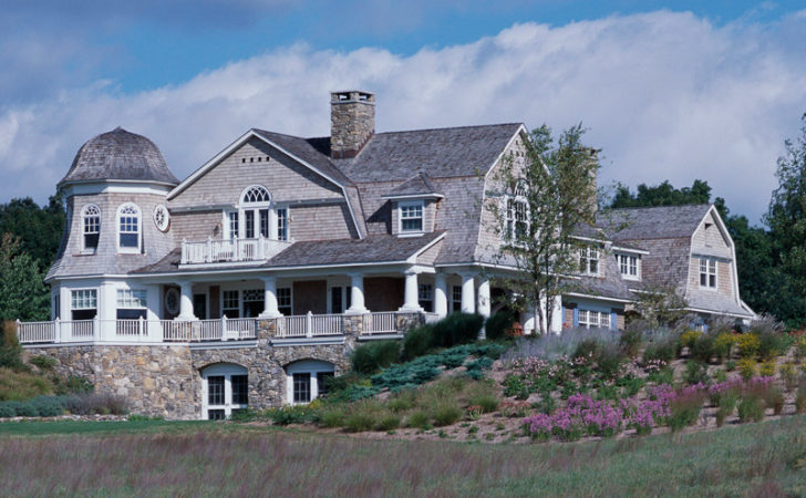 Get Look Shingle Style Traditional Home