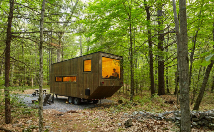 Getaway Service Rents Tiny Houses Woods