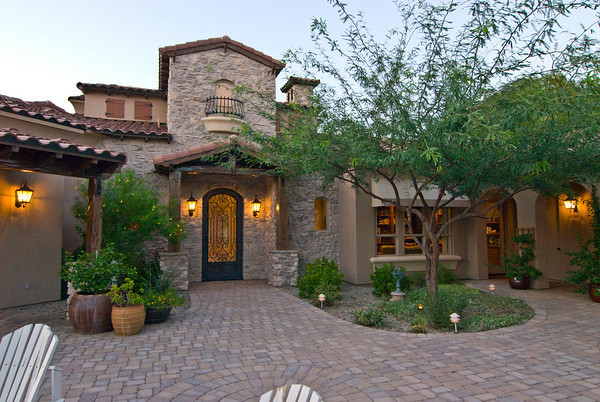 Getting Closer Tuscan Style Homes Home Design