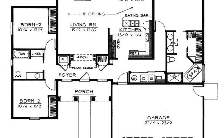 Goodman Handicap Accessible Home Plan House